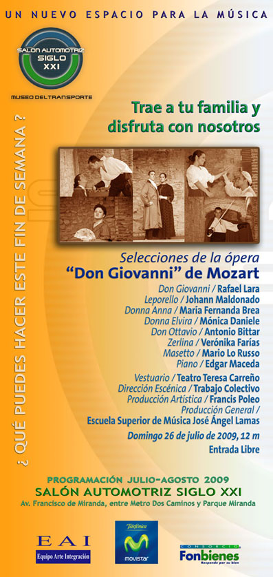 Invitación Don Giovanni
