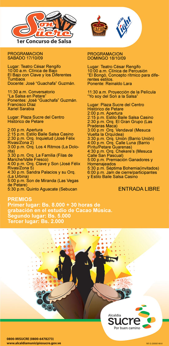 FLYER_EVENTO_Son de Sucre