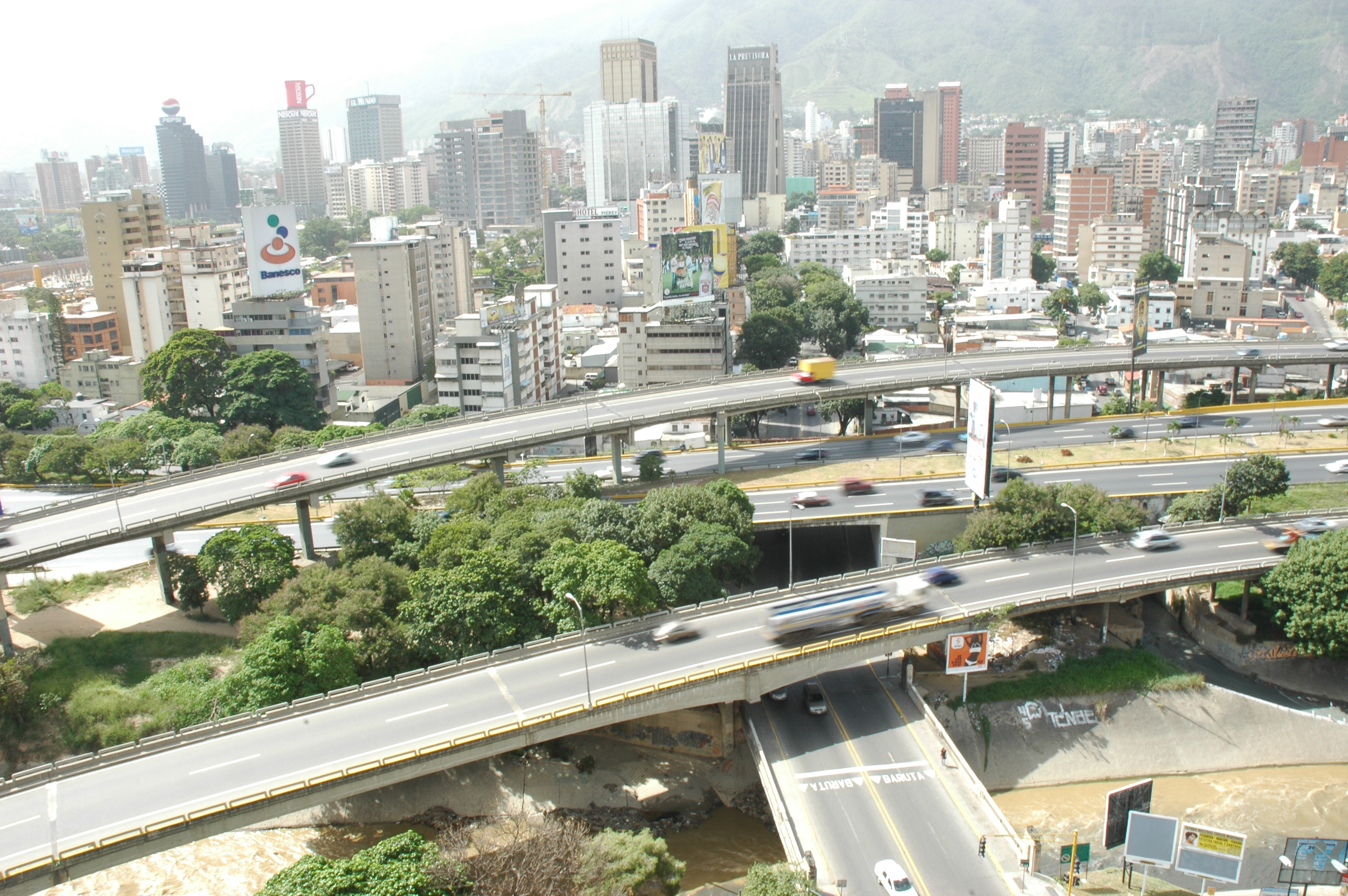 an overview of the ranchos of caracas