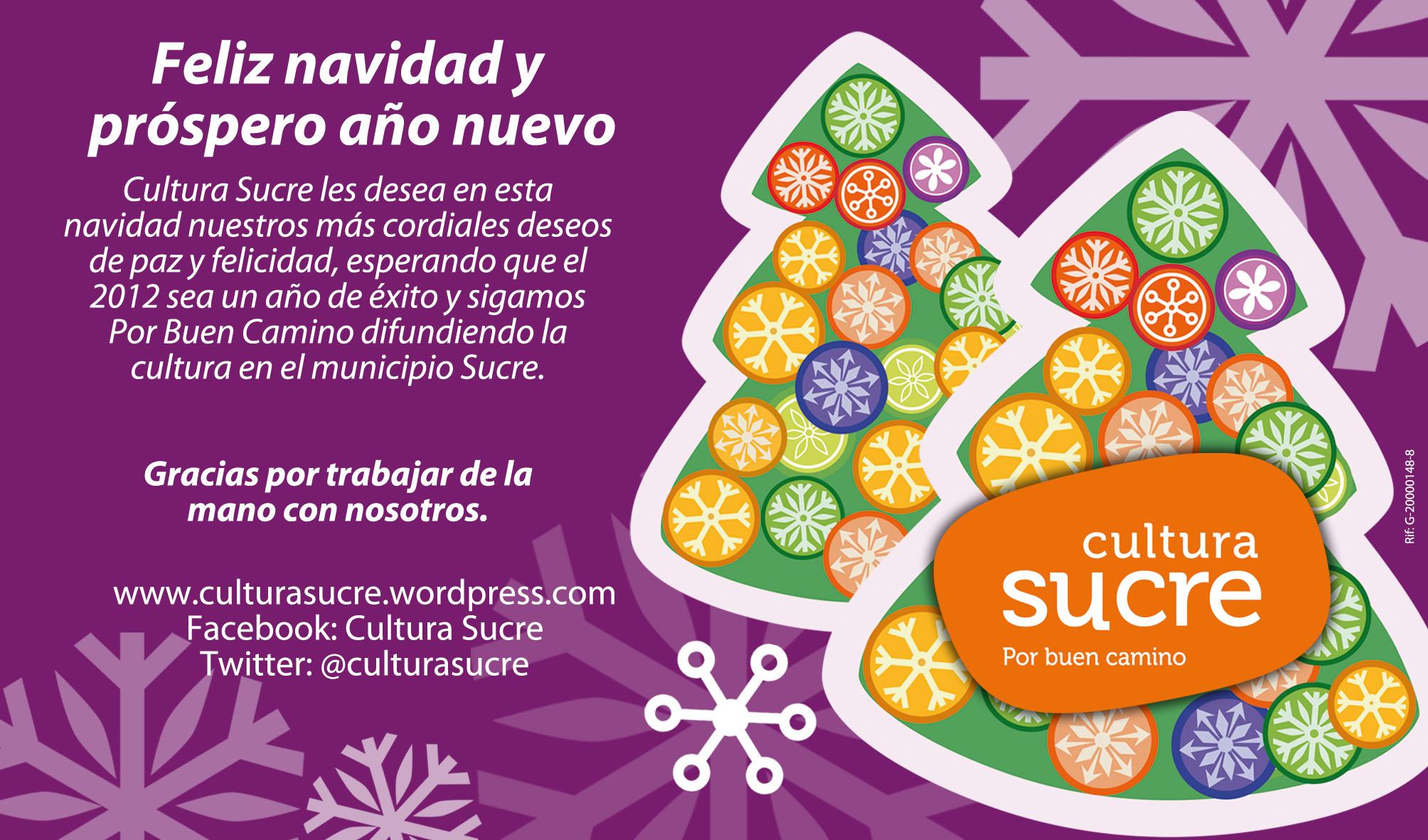 Feliz navidad y pr spero a o nuevo acci n cultural en el - Deseos para la navidad ...