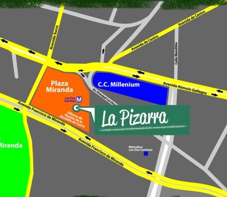dirección La Pizarra