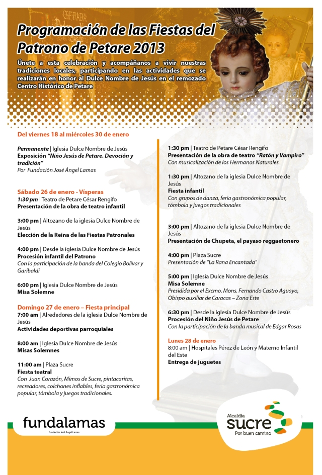 VOLANTE PROGRAMACION NIÑO 2013-01