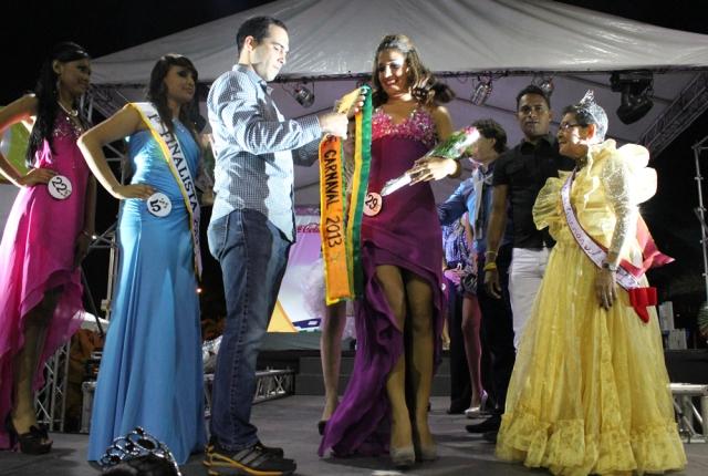 Anais Marcano, Reina de Carnaval 2013 del municipio Sucre