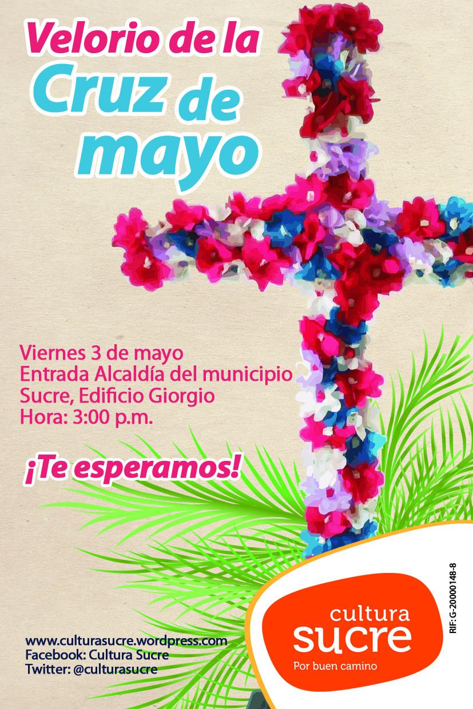Velorios de la Cruz de mayo en el municipio Sucre  Accin