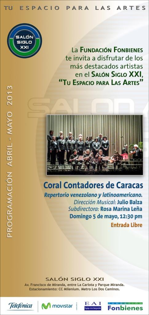 Invitacion Coral Contadores de Caracas