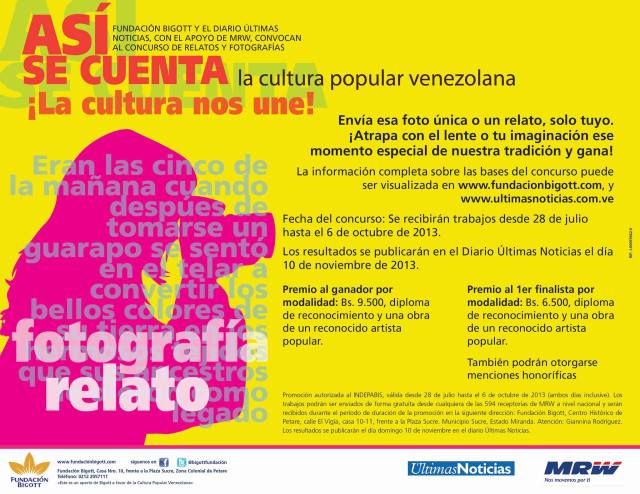 cultura popular fund bigott