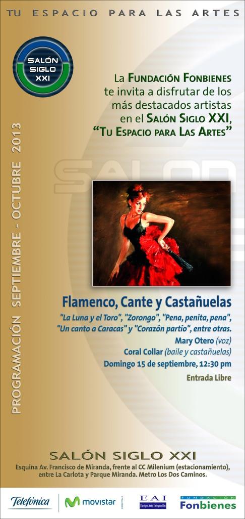 Invitacion Flamenco, Cante y Castanuelas