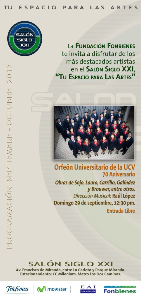 Invitacion Orfeon Universitario