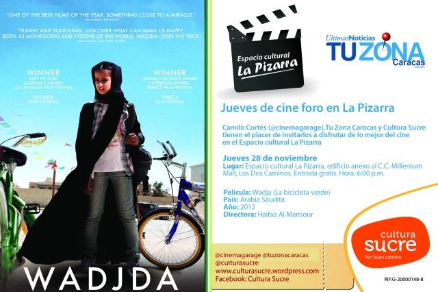 Jueves de cine foro en La Pizarra 28nov copy