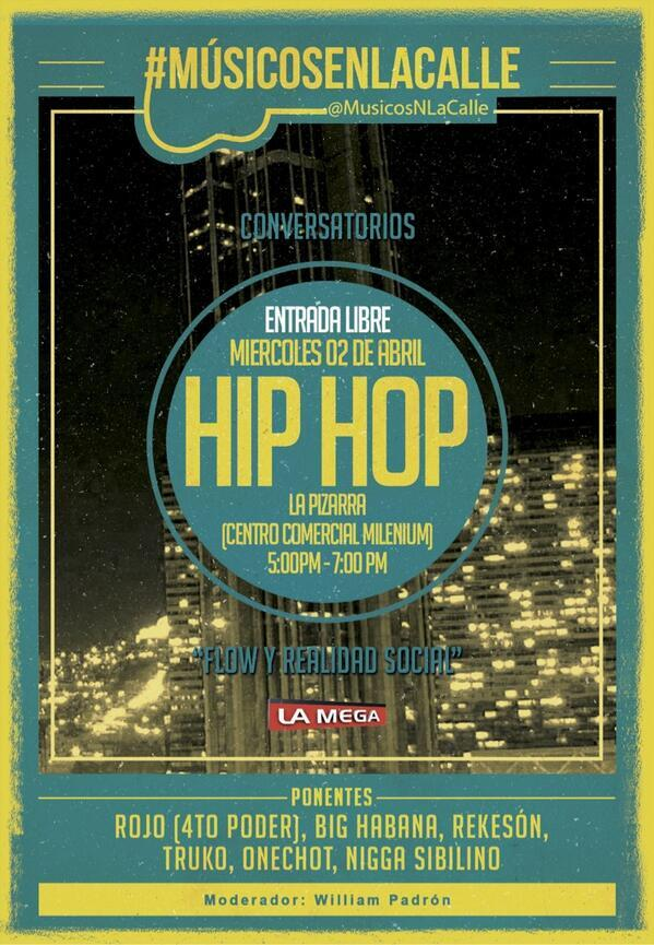 Hip hop cpnversatorio
