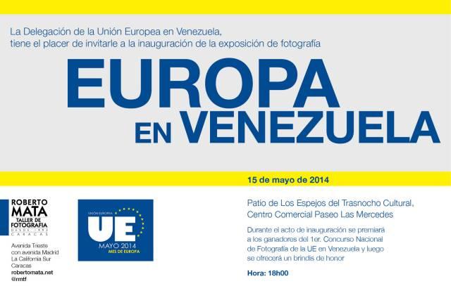 Exposición Europa en Vzla - INVITACION