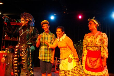 Sereno secreto obra de teatro dirigida por Lisi García. Foto: Jesús Contreras.