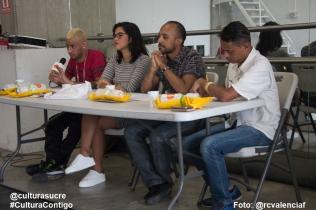Jurado Calificador: Alex Doff, Beatriz Requena, Harold Henao, Concejal Vicente Páez
